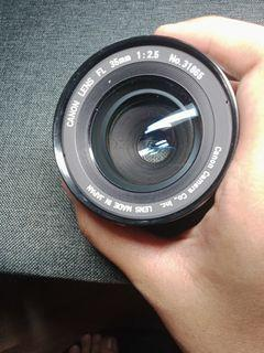 Canon Lens FL 35mm f2.5