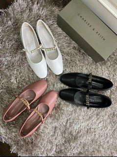 Charles&Keith - Adore Flat Shoes