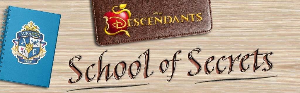 Descendants School of Secrets Books