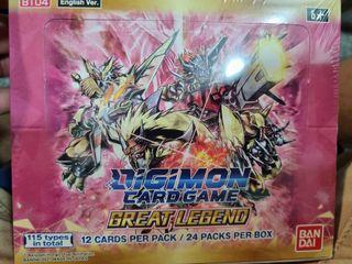 Digimon bt04 english box