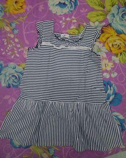 Dress anak salur impor