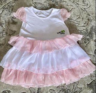 Dress frills baby girl