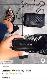 Fashion Nova crossbody bag