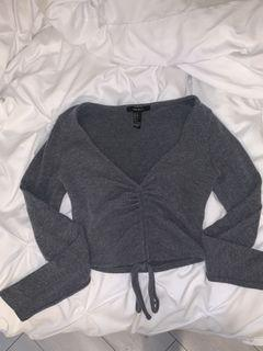Forever 21 tie front top size small