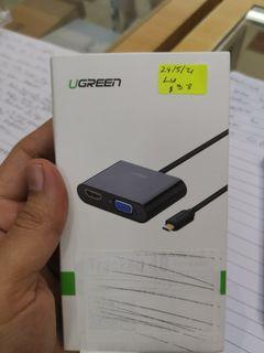 Ugreen 3 in 1 (Micro HDMI to HDMI/VGA Converter with Audio) 30355