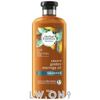 Herbal Essences Bio Renew Smooth Golden Moringa Oil Shampoo/Conditioner (400ml)