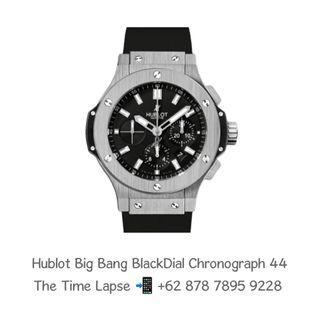 Hublot Big Bang Black Dial Chronograph 44
