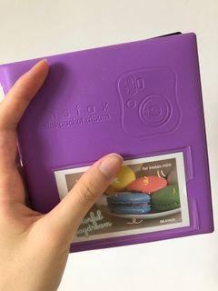 Instax mini pocket album 💿 purple💜 Fujifilm 即影即有相簿