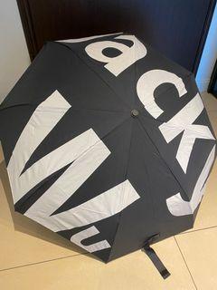 Jacky wu雨傘-黑色(自動開關傘)