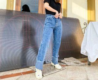 JINISO HW Boyfriend Jeans