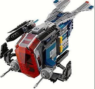 LEGO Star Wars (75046) Coruscant Police Gunship(No Minifigures)