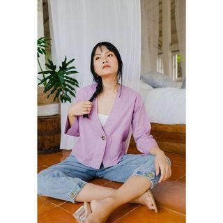 [NEW] Linen Outer by Leviora