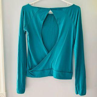 New! Open-back top