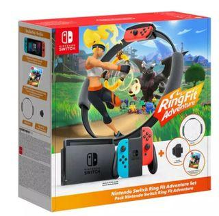Nintendo Switch Gen 2 with Ring Fit Adventure Bundle