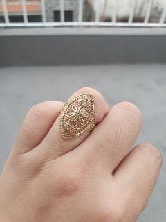 Omg 18k Saudi Gold ring