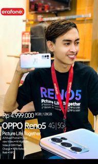 Oppo Reno 5 Free Wireless Headphone Terbatas khusus cicilan tanpa kartu kredit syara