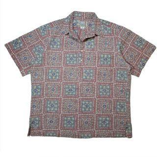 Reyn spooner pullover hawaiian cotton shirt