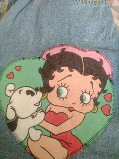 Rok Betty Boop U.S.A Ori