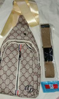 Waist bag coach n belt
