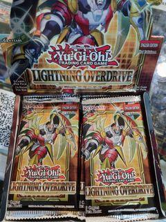 Yugioh lightning overdrive english box