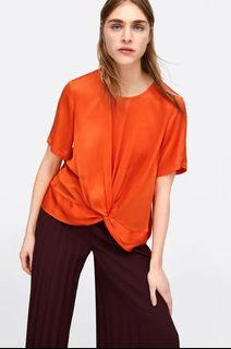 Zara Knotted Top