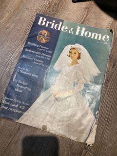 1959年出刊的古董雜誌Bride&Home