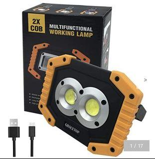 2 PACK GRACETOP Multifunctional LED Working Light