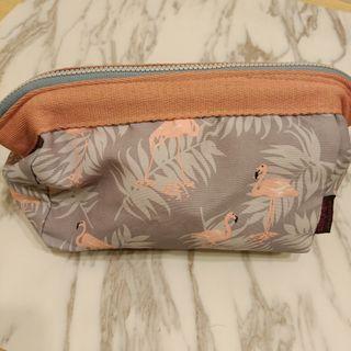 紅鶴化妝包/筆袋/收納袋