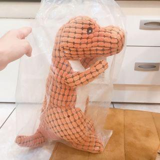 寵物🐶🐱 HOOPET恐龍造型潔齒發聲寵物玩具(大號/高50cm)