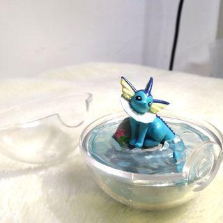 寶可夢 生態球 水伊布  神奇寶貝 擺飾 公仔 任天堂 盒玩