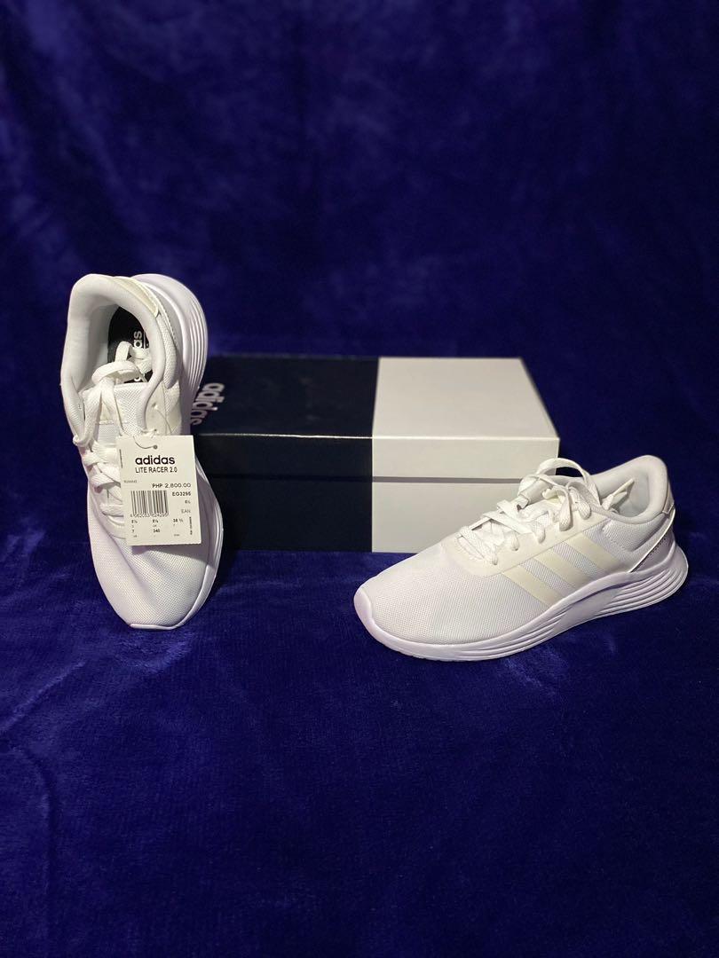 Adidas Lite Racer 2.0 / Cloud white/chalk white