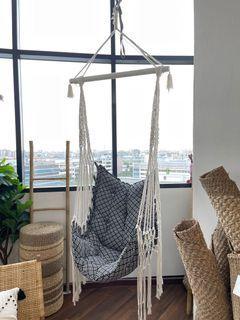 Airmocks Bohemian Macrame Hanging Swing Chair