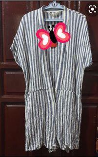 Authentic Zara Stripe Cotton Romper