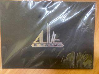全新!絕版!Bigbang Alive官方正版明信片組