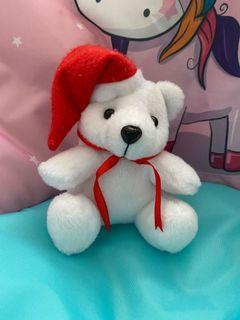 Boneka beruang santa