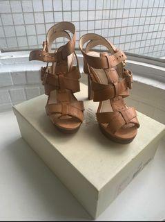 COACH 高跟涼鞋 38