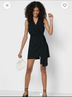 F21 wrap blazer dress