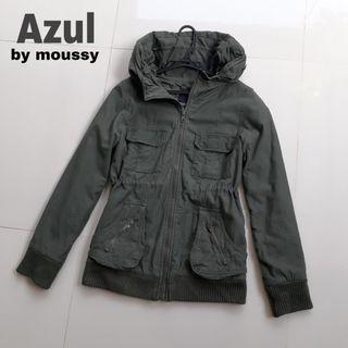 Jaket Parka wanita Azul second import