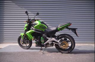 Kawasaki ER6N 輕鬆入門紅牌