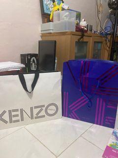 Kenzo paper bags