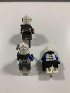 LEGO Star Wars Clone Commander Fox and Captain Rex