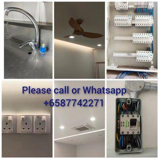 Light fan water tap and printing services