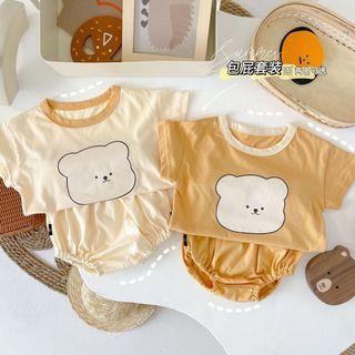LionSheep Kids 童裝/韓版可愛小熊套裝