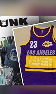 NBA湖人隊球衣james