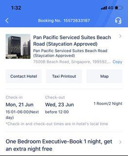 Pan Pacific Serviced Suites Beach Road Staycation