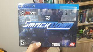 Sony Playstation 4 Ps4 Wwe Smackdown 2k20 20th anniversary edition game