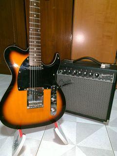 [RARE] Vintage tele guitar/ Fender amp