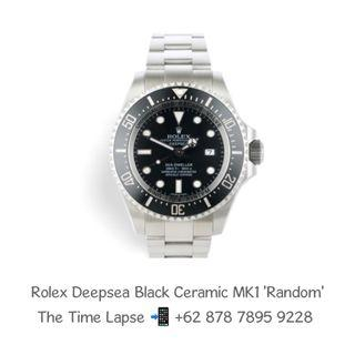 Rolex Deepsea Black Ceramic MK1 'Random'
