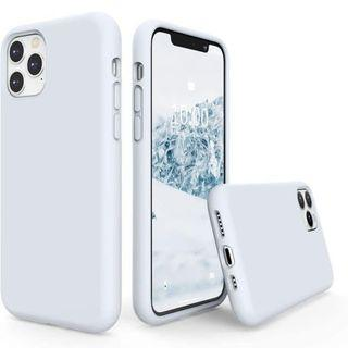 SURPHY Sky Blue Silicone Case for iPhone 11 Pro