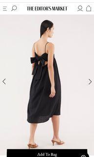 TEM The Editor's Market Lauryn Tie-Back Dress